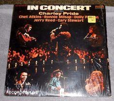 In Concert Double LP Album w/Host Charley Pride - Vinyl, 1975 RCA Records  #BluegrassCountryPopGospel