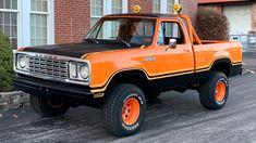 1978 Dodge Macho Power Wagon   K39   Kissimmee 2020 Classic Pickup Trucks, Old Pickup Trucks, Farm Trucks, 4x4 Trucks, Custom Trucks, Cool Trucks, Custom Cars, Old Dodge Trucks, Dodge Pickup