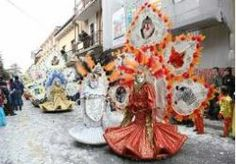 2014 - CARNEVALE Locara (Verona), about 16 miles west of Vicenza, Feb. 16, 2:30 p.m., float parade