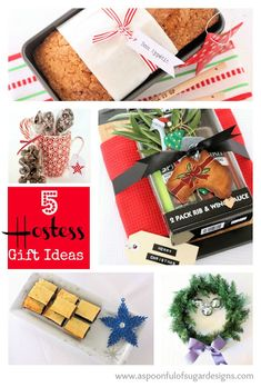 5 Hostess Gifts Ideas | A Spoonful of Sugar