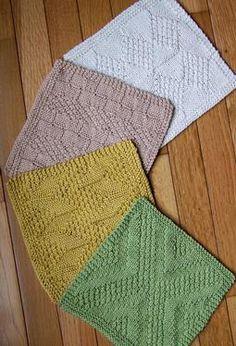 #1 Really Reversible Dishcloths Set of 4