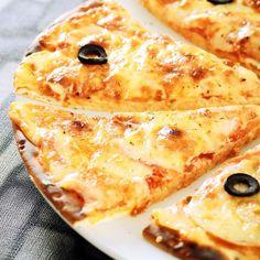 Pizza aux quatre fromages