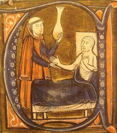 European depiction of the Persian doctor Al-Razi