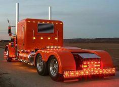 Peterbilt custom 379 light show
