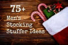 Tweet Finding stocking stuffers for the guys always seems to be a difficult task! No worries as we have compiled a list of over 75 items that will help you to fill their stockings! I love to shop the dollar …