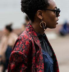 Bijoux Maria Black street style
