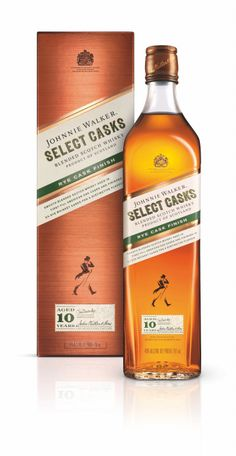 Johnnie Walker Select Cask, Rye Cask finish. Just bought a bottle of the stuff, I look forward to writing a review!