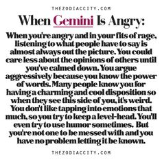 When Gemini Is Angry.