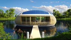 The smartly engineered WaterNest 100 by EcoFloLife lets residents live as one with nature.