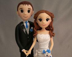 Wedding Cake Topper , Cake Topper Wedding ,  Original Style Wedding Cake Topper