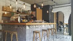Stylish Cafe in Belgrade, Serbia