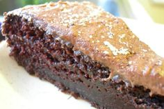 """Killer"" Chocolate Cake—incredibly moist and fudgey."