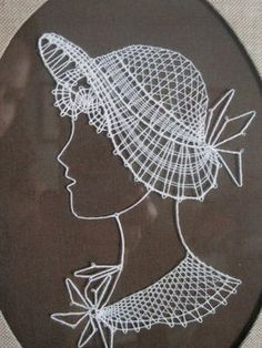 string art from the 70's