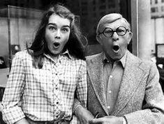 Brook Shields & George Burns