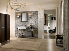 Moza ek tegels badkamer on pinterest mosaic tile bathrooms van and mosaic tiles - Badkamer modellen ...