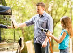 DO'NT USE SURF OR DETERGENTS FOR CAR WASH  If you don't want to pay for a car wash or even special cleaning products, you can actually clean your car pretty effectively with some shampoo, water, and baking soda.