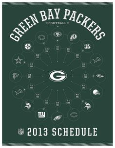 Green Bay Packers 2013 Schedule