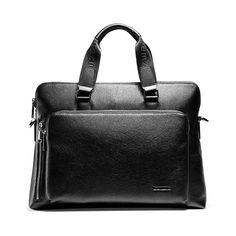 "67.85$  Buy now - http://alimub.worldwells.pw/go.php?t=32463098164 - ""teemzone Document Zipper Laptop Genuine Leather Briefcase Business Man 14"""" Laptop Portfolio Executive Briefcase Lawyer Bag T0823"""