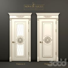 Классические двери Рафаэль 6 и Рафаэль 7 Door Design Interior, Main Door Design, Wooden Door Design, Gold Interior, Gate Design, Wooden Doors, House Design, Classic Doors, Cabinet Design
