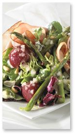 Grilled Asparagus and Beet Salad with Honey Mustard (Spargelfest Salat)