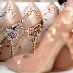 WEBSTA @ jewelryjournal - Obsessed with Ralph and Russo Eden Eve pumps!