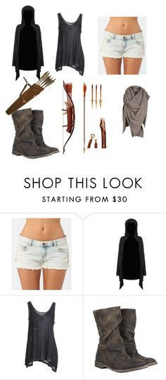 """""""Untitled #332"""" by dreamcatxher ❤ liked on Polyvore featuring Billabong, Killstar, FourMinds and AllSaints"""