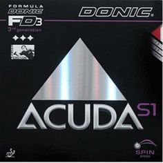 Donic Accuda S1 Table Tennis Rubbers