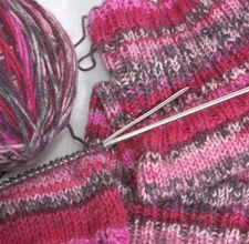how to Knit Elastic Into Socks