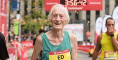 Tiene 85 años y marcó un nuevo récord en la maratón de Toronto | Zona Mixta - Yahoo Deportes