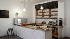 Bistro 8 - a bright space, with minimalistic and yet cosy interior ,where you can indulge into homemade pastries, quiches and cakes and excellent coffee. Try the sunday all you can eat brunch!
