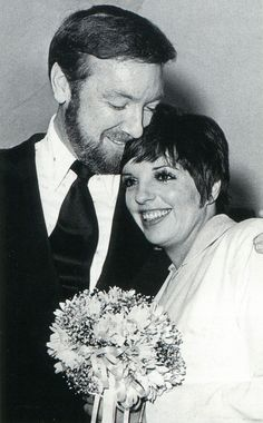 "1974 wedding of Singer/ActressLiza Minnelli & Jack Haley Jr.  Liza is the daughter of Judy Garland who was famous for her role as Dorthory in the movie ""The Wizaed of Oz""."