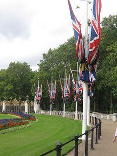 Near the Buckingham Palace,London