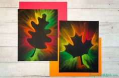 Gorgeous Fall Leaf Chalk Pastel Art Kids Can Make Kids will love making this fall leaf chalk pastel art using all of the gorgeous autumn colors! Use an easy pastel technique that is perfect for kids of all ages. Chalk Pastel Art, Chalk Pastels, Chalk Art, Easy Fall Crafts, Fall Crafts For Kids, Art For Kids, Autumn Art, Autumn Leaves, Theme Halloween
