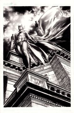 jay anacleto art | The Dark KnightIllustration by Jay Anacleto (via comicartfans.com)