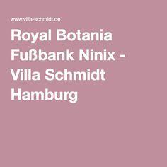 Royal Botania Fußbank Ninix - Villa Schmidt Hamburg
