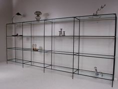 Abstracta Modular Display in Denmark - Poul Cadovius design.