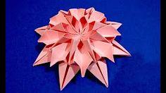 origami star - YouTube