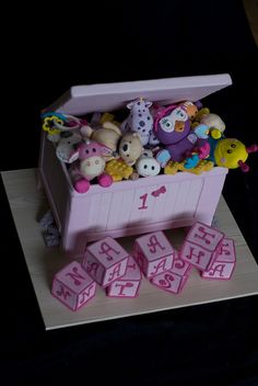 Toy Box Cake by mags20_eb, via Flickr