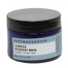 Naturopathica Seaweed Recovery Mask by Naturopathica. $48.00. SPIRULINA: a genus of blue-green algae commonly found in freshwater environments that is an excellent nutritive hydrating plant for dry, sensitive skin. SKIN TYPE: Normal to Dry Skin. ALOE VERA: soothes and moisturizes skin. HERO INGREDIENT: Antarctic Seaweed: a giant seaweed that grows in the frozen waters of Antarctica, this seaweed helps to reverse sun damage due to its ability to adapt to the harsh climate.. A con...