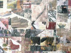 "Saatchi Online Artist: Joan Schulze; Fabric, 2010, Assemblage / Collage ""What We Miss"""
