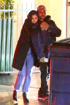 "selgomez-news: ""January 10: [More] Selena seen with The Weeknd leaving Giorgio Baldi Restaurant in Santa Monica, California. [HQs] """