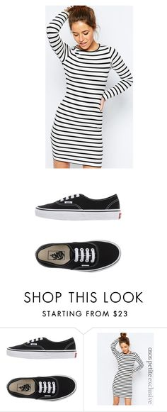 """""""Untitled #883"""" by laurie-egan on Polyvore featuring Vans and ASOS"""