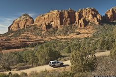 Schnebly Hill Road, Arizona Thirteen miles of intense switchbacks guide drivers through the vast remnants of a primal sea that existed here hundreds of millions of years ago. It used to be covered in lava -- but now it serves to link the city of Sedona with Interstate 17.