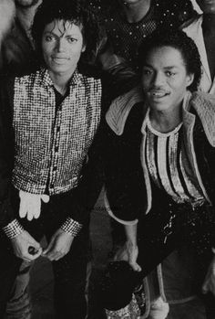 Michael and Marlon :) Michael Jackson - Cuteness in black and white ღ by ⊰@carlamartinsmj⊱