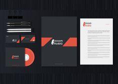 This is Music Logo & Brand Identity. Logo Branding, Brand Identity, Music Logo, Professional Logo, Graphic Design Illustration, Adobe Photoshop, Adobe Illustrator, Branding