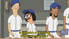 That moment when you realize that you are Tina from Bob's Burgers.