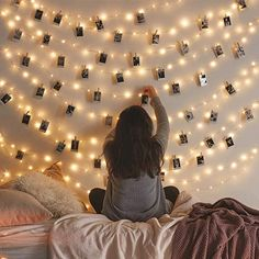 Amazon.com : Vont Starry Fairy Lights, String Lights (66FT - 200 LEDs) Bedroom Decor, Wall Decor & Christmas, USB Powered, Bendable Copper Twinkle Lights, Indoor & Outdoor Use, Lighting for Wall, Patio, Tapestry : Home & Kitchen