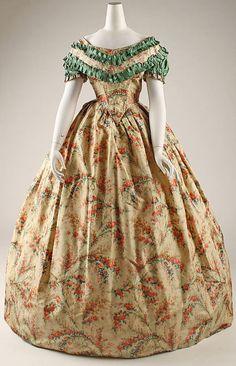 Dress, 1860-1863  The Metropolitan Museum of Art