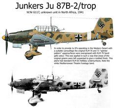 Jungers Ju87B-2/Trop