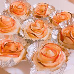 アップルパイ . #pie #apple #rose #sweets #recipes